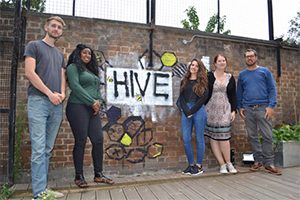 Staff at The Hive