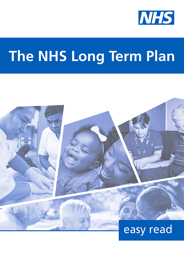 The NHS Long Term Plan - easy read version